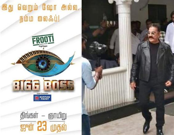Kamal Haasan begins shooting for Bigg Boss 3