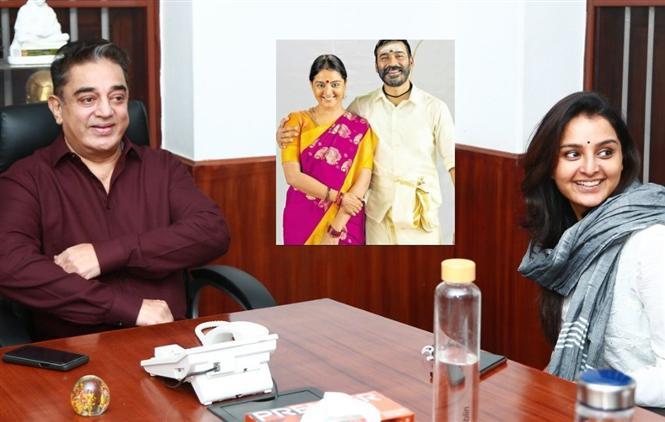 Kamal Haasan praises Manju Warrier for Asuran!