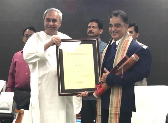 Kamal Haasan receives Honorary Doctorate from Centurion University, Odisha