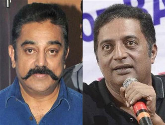 Kamal Haasan thanks Prakash Raj for 'Walking the Talk'!