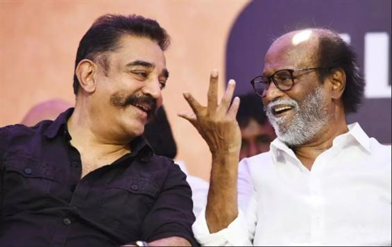 Kamal Haasan wishes Rajinikanth on his birthday!