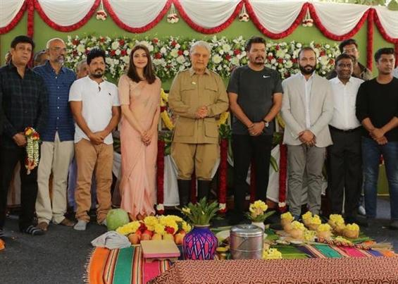 Kamal Haasan's Indian 2 begins shooting!