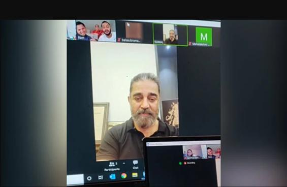 Kamal Haasan's video call with terminally ill fan ...