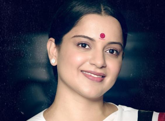 Kanagana Ranaut's new look from Thalaivi unveiled on Jayalalithaa's Birth Anniversary