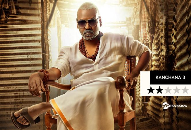 Kanchana 3 Review - A film strictly catering to 'Kanchana' fans!
