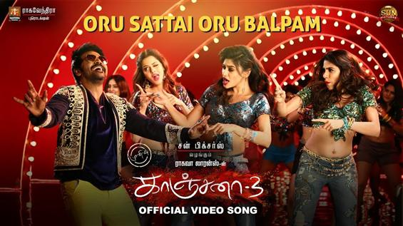 Kanchana 3 Video Songs: Oru Sattai Oru Balpam feat...