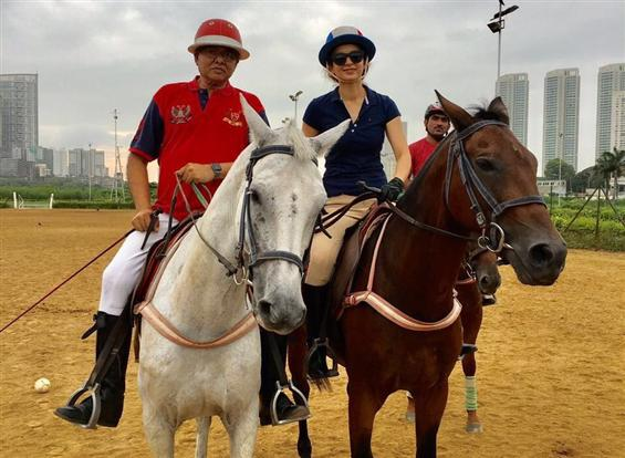 Kangana Ranaut learns horse riding for 'Manikarnika: The Queen of Jhansi'