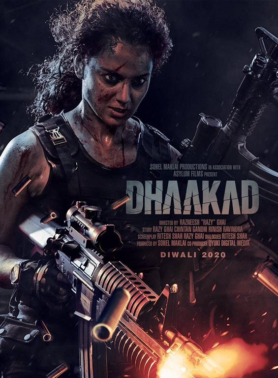 Kangana Ranaut looks fierce and intense in Dhaakad...