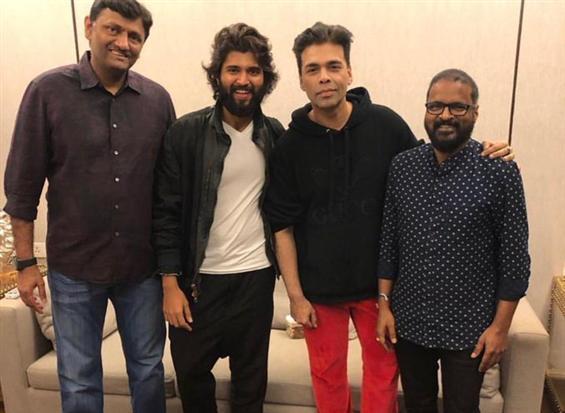 Karan Johar acquires remake rights of Vijay Devarakonda's film