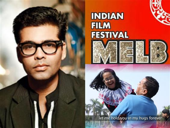 Karan Johar shares Indian Film Festival of Melbour...