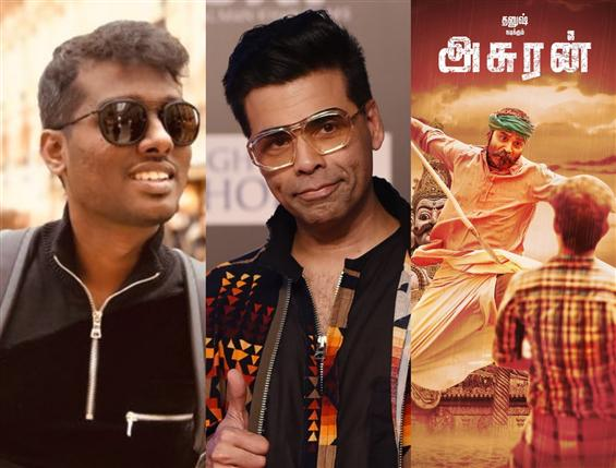 Karan Johar's praise for Atlee, Asuran trends!
