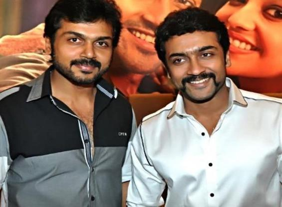 Karthi confirms Suriya's next film with Hari