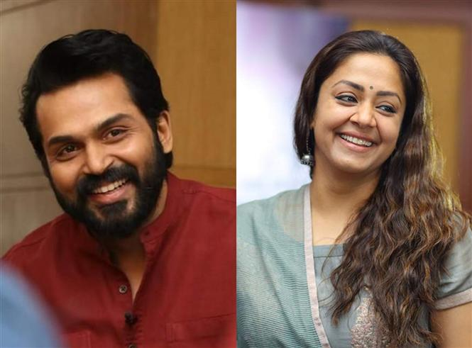 Karthi, Jyotika Film To Have A First Look Release Tomorrow!