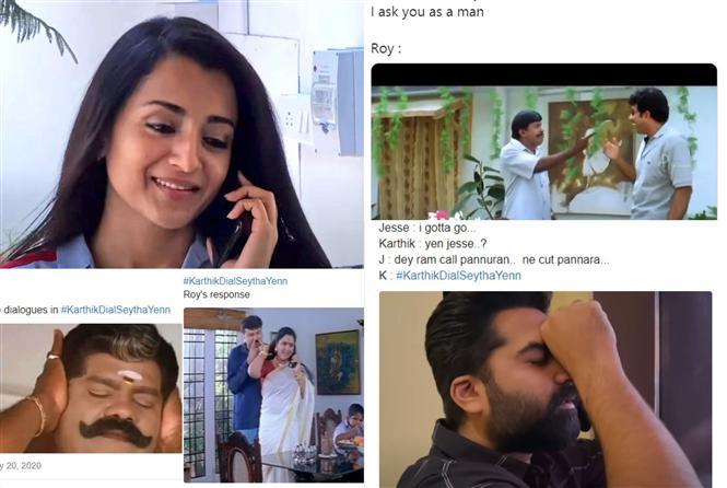 Karthik Dial Seytha Yenn invokes laugh fest among Tamil netizens!