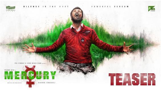 Karthik Subbaraj, Prabhu Deva's Mercury Teaser!