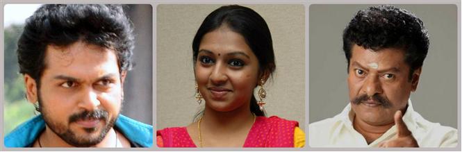 Karthi's new film Komban launched