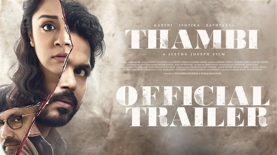 Karthi's Thambi - New Trailer!