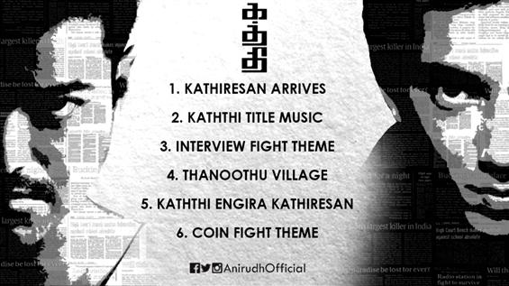 Kaththi - BGM Jukebox