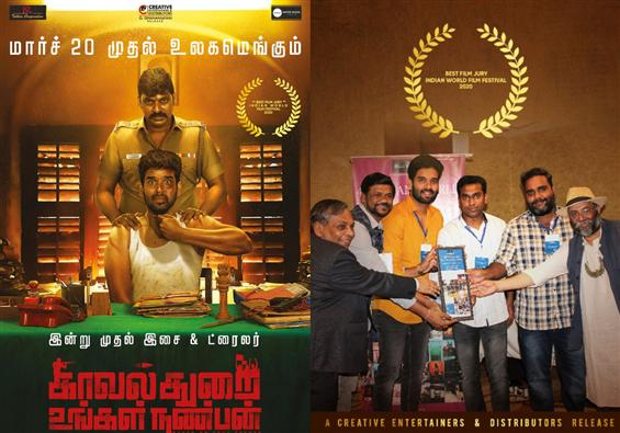 Kavalthurai Ungal Nanban wins at Indian World Film Festival!