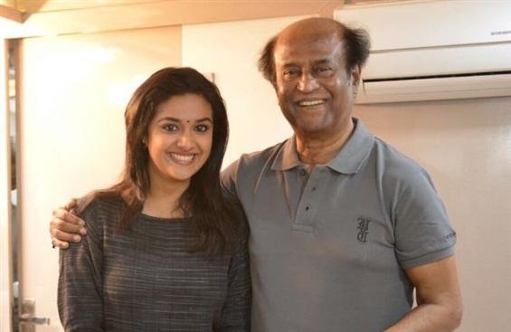 News Image - Keerthy Suresh is Rajinikanth's next heroine! image