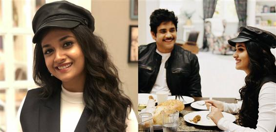 Keerthy Suresh joins the sets of Nagarjuna's Manmadhudu 2