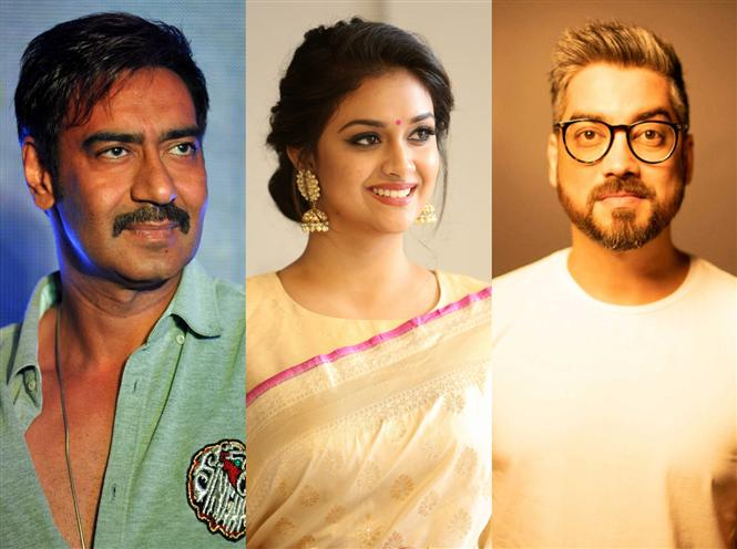 Keerthy Suresh to make her Bollywood debut with Badhaai Ho director, Ajay Devgn!