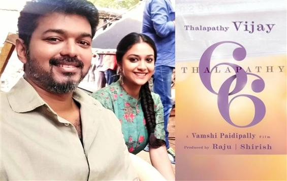 Keerthy Suresh to play female lead in Thalapathy 6...