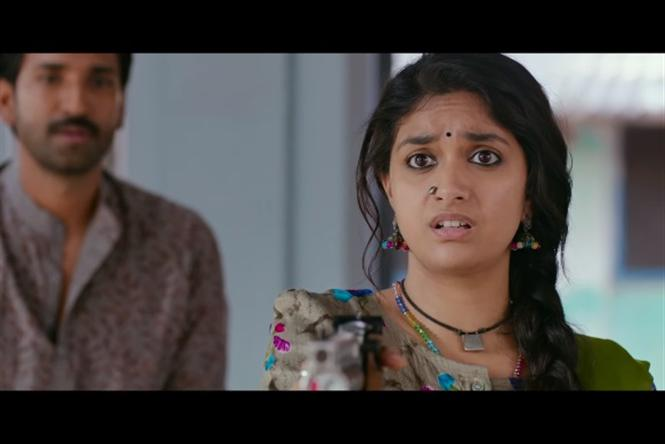 Keerthy Suresh's Good Luck Sakhi Teaser is all about busting the 'bad luck'!  Tamil Movie, Music Reviews and News