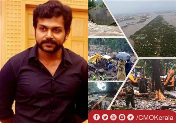 Kerala Floods 2018: Karthi appeals for generous do...