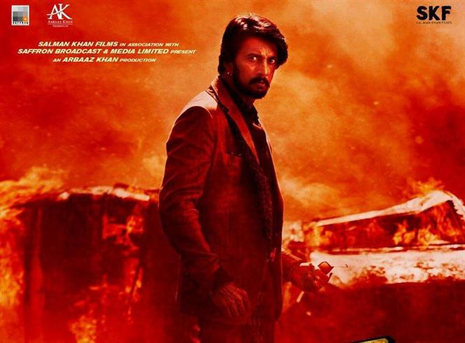 Kichcha Sudeep's dashing villain look of Dabangg 3 unveiled