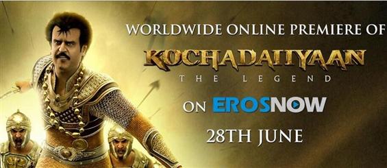 Kochadaiiyaan Ready to Rule the Web