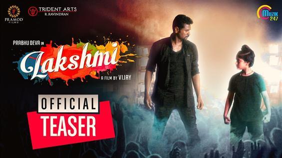 Lakshmi Teaser feat. Prabhu Deva is here