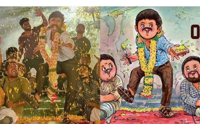 Latest Amul Cartoon perfectly captures Jagame Thandhiram's Suruli!