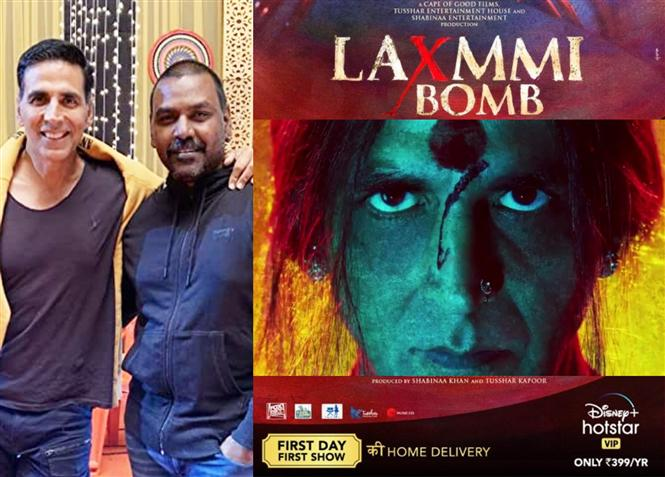 Laxmmi Bomb release date on Disney Plus Hotstar out now!
