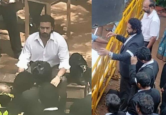 Leaked images of Suriya as Lawyer go viral!