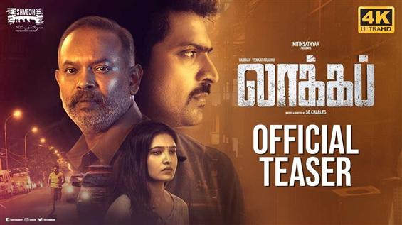 Lockup Teaser: Vaibhav, Venkat Prabhu thrill with ...