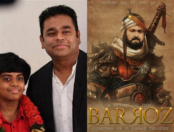 Lydian Nathaswaram roped in for Mohanlal's 3D Film Barroz?