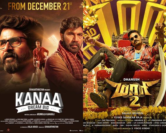Maari 2 Vs Kanaa: Dhanush & Sivakarthikeyan to fight it out at the Box-Office!