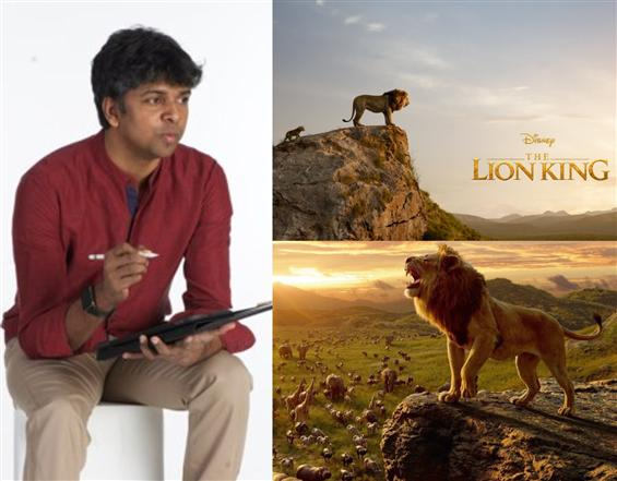 Madhan Karky pens for The Lion King Tamil!