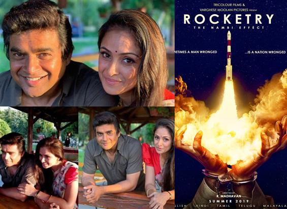 Madhavan & Simran reunite after 15 years for Rocke...