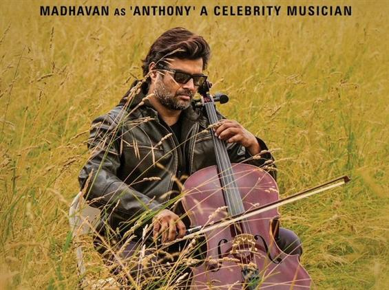 Madhavan As Anthony From Nishabdham!