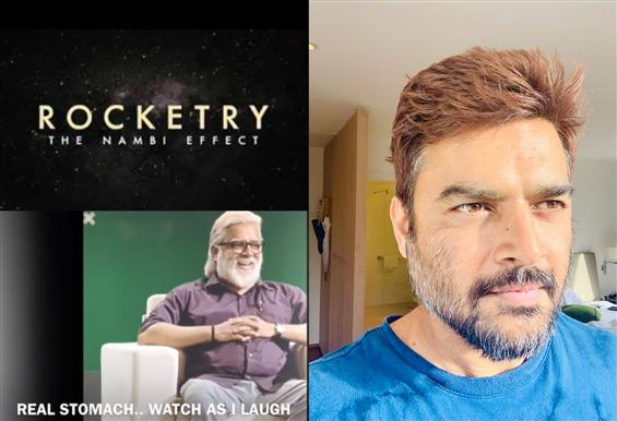 Madhavan's Dramatic Transformation for Rocketry The Nambi Effect!