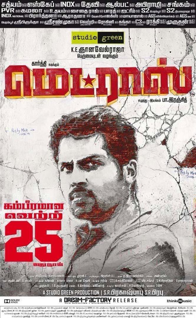 Madras completes 25 days
