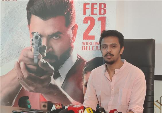 Mafia is inspired from Narcos - Director Karthick Naren!