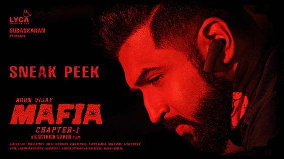 Mafia Sneak Peek feat. Arun Vijay