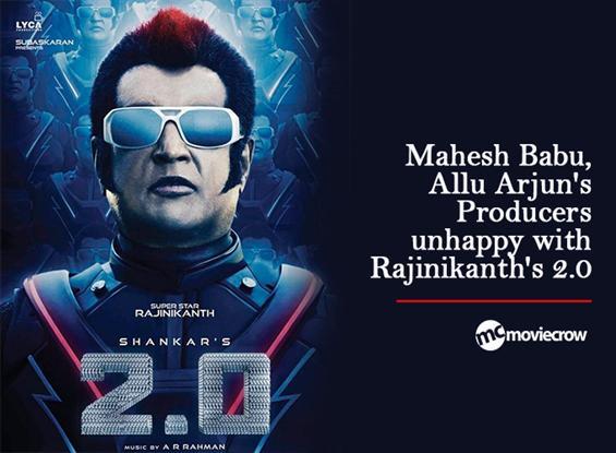 Mahesh Babu, Allu Arjun's Producers unhappy with R...