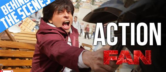 Making of Action Scenes from Fan