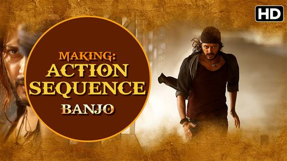 Making of 'Action Sequence' from Banjo