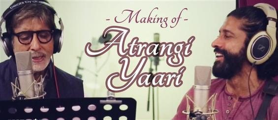 Making of 'Atrangi Yaari' video song from Wazir