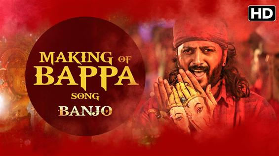Making of 'Bappa song' from Banjo